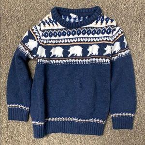 Janie & Jack   Boys Bear Sweater